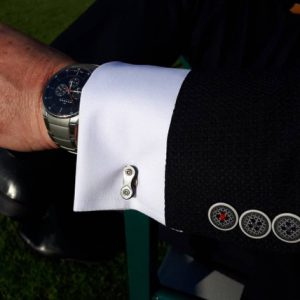 Cycle Chain Cuff Links