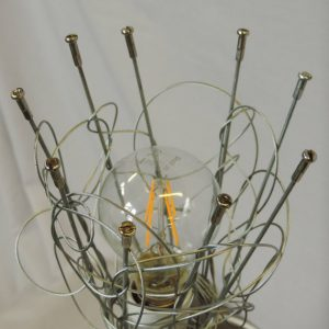 Bicycle Spoke Table Lamp for sale