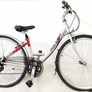 Raleigh step through hybrid bike