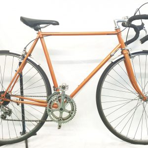 Image of the restored Orange Peugeot 1980 for sale