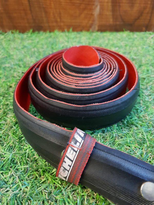 Upcycled tyre belt