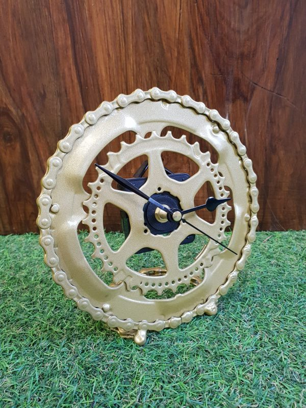 Upcycled Bike Cog Clock