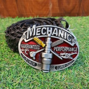Mechanic Buckle Upcycled Tyre Belt