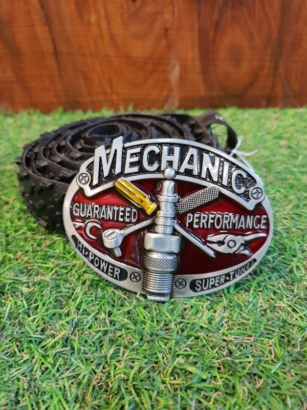 Mechanic Buckle Upcycled Tyre Belt