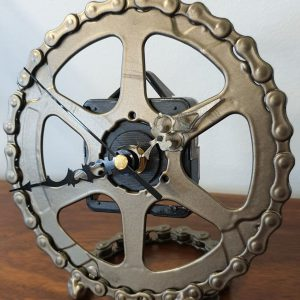 Image of the Upcycled Clock Bronze for sale