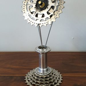 Image of the Upcycled Tall Clock for sale