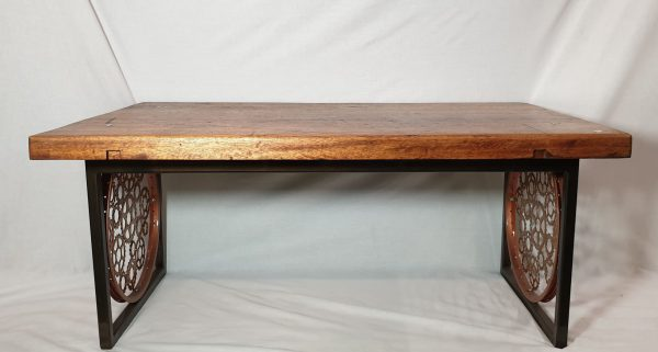 Image of the Upcycled Ex Workstand Coffee Table for sale
