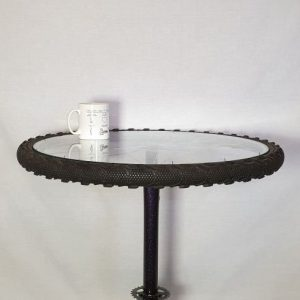 Image of the Upcycled Tall Coffee Table for Aale