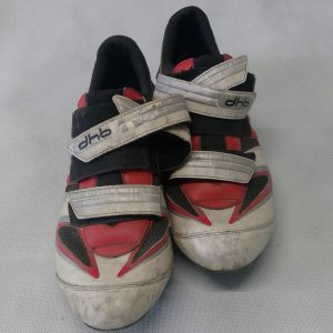 White DHB road cycling shoes