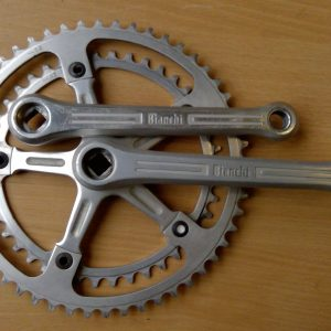 Vintage Bianchi double chainset