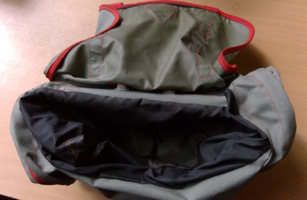 Carradice Overlander saddlebag