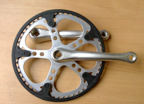 Stronglight single ring chainset