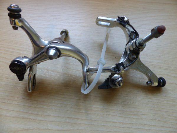 Shimano 105 single-pivot road bike caliper brakes