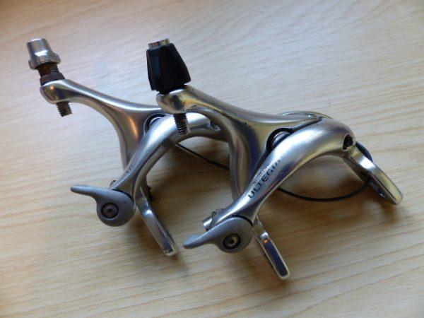 Shimano Ultegra dual-pivot caliper road bike brakes
