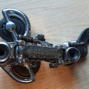 Vintage Campagnolo Record 1960s road racing steel short cage rear derailleur