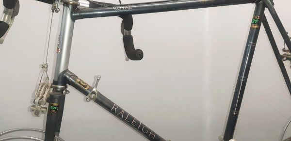 Image of the Image of the retro Raleigh Royal project bike frame for sale