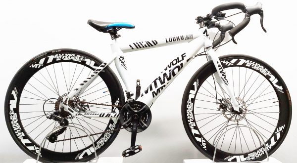 Image of the refurbished MTWolf road bike
