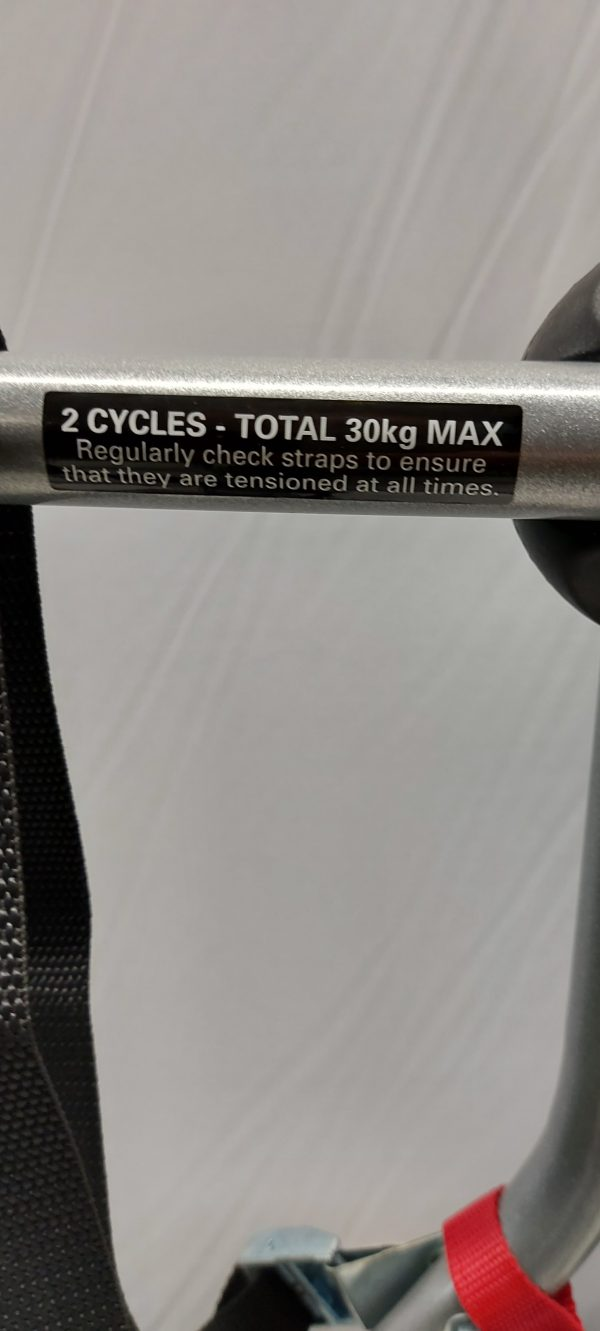 Halfords Low 2-bike carrier