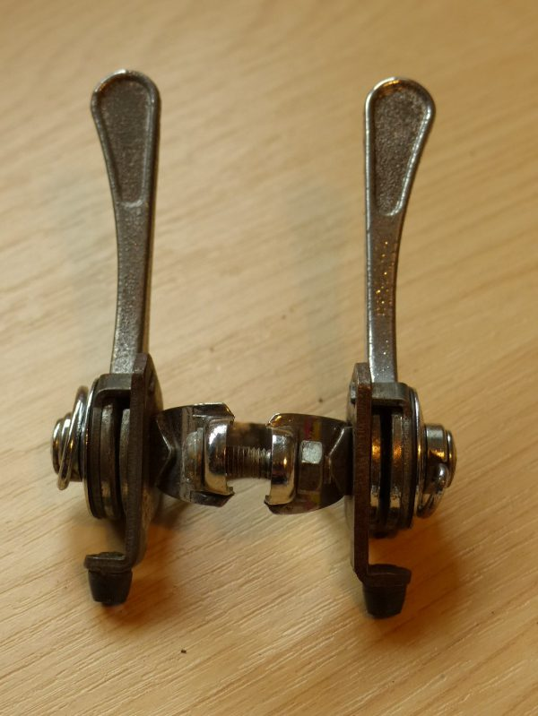 Vintage Huret band-on double gear shifter