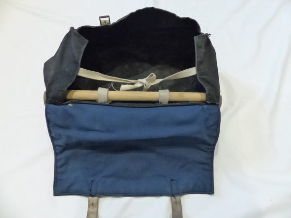 Retro Carradice 'Carries with Class' junior-sized canvas saddlebag