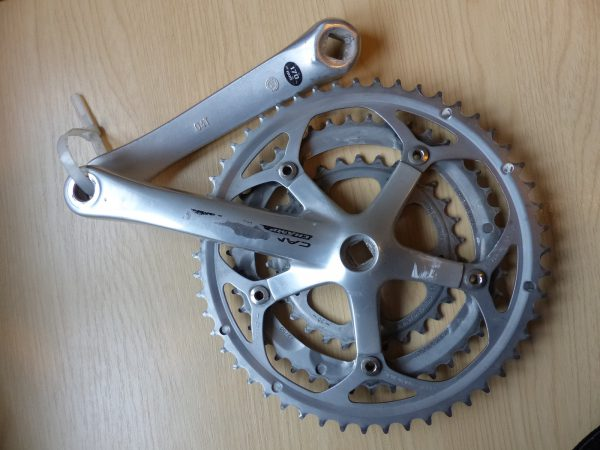 Campagnolo Champ triple chainset