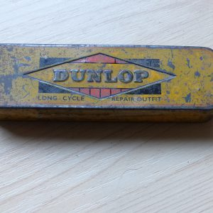 Dunlop puncture repair tin