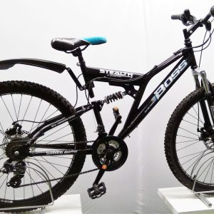 Image of the refurbished Boss Stealth Mountain Bike