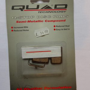 Quad Shimano Deore brake pads