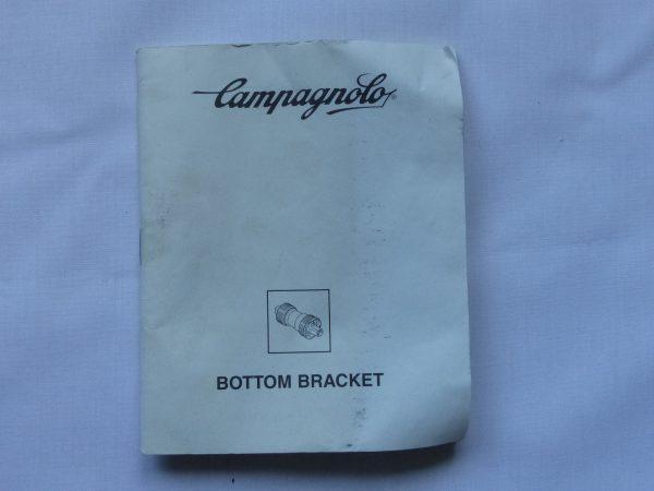 Campagnolo bottom bracket Italian thread