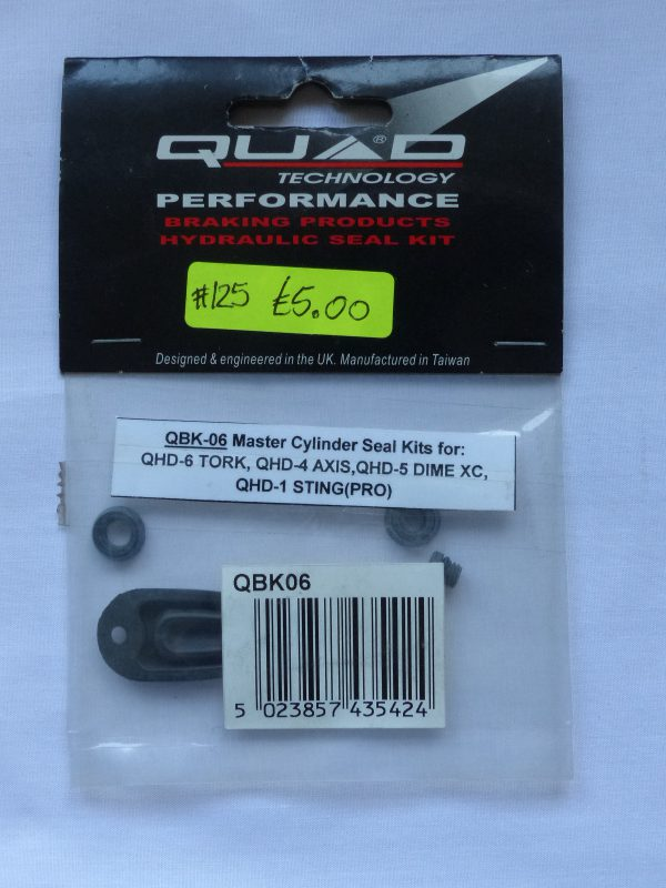 QBK-06 master cylinder seal kit