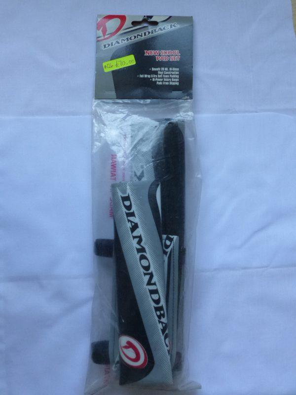 Diamondback New Skool BMX pad set