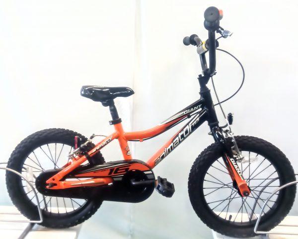 Image of the Refurbished Giant Animator Child's Bike for sale.