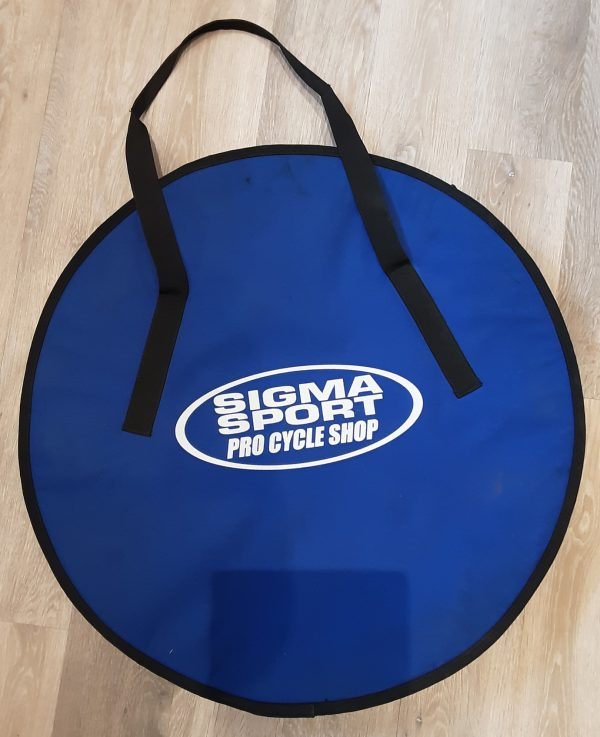Sigma Sport padded double road bike wheel bag