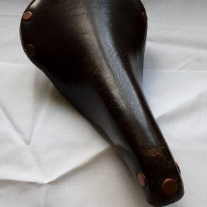 Brooks Professional brown leather saddle