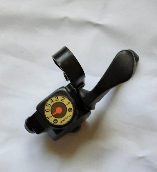 Shimano Altus ST-CT15 7-speed indexed flat-bar gear shifter