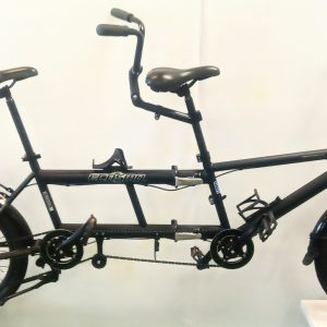 Image of the Refurbished Ecosmo Folding Tandem for sale